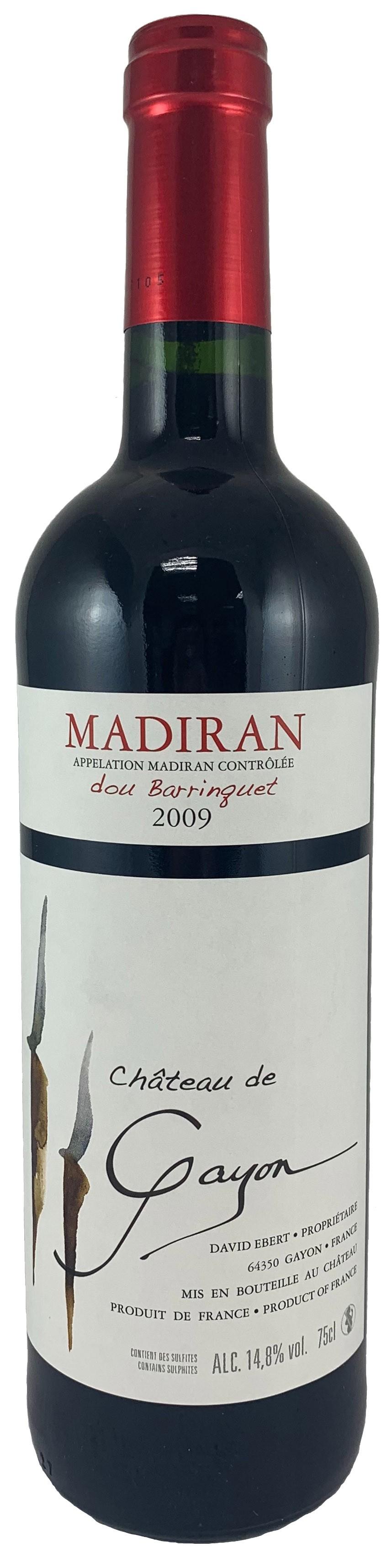 法國 馬第宏AOC 蓋永酒莊 杜巴哈克尊爵紅酒2009