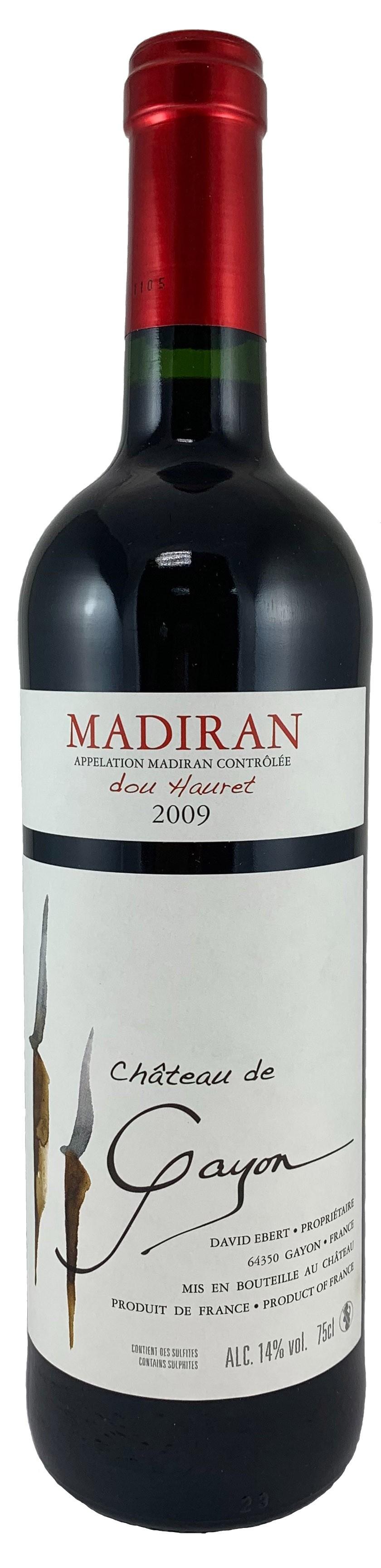 法國 馬第宏AOC 蓋永酒莊 杜黑尊爵紅酒2009