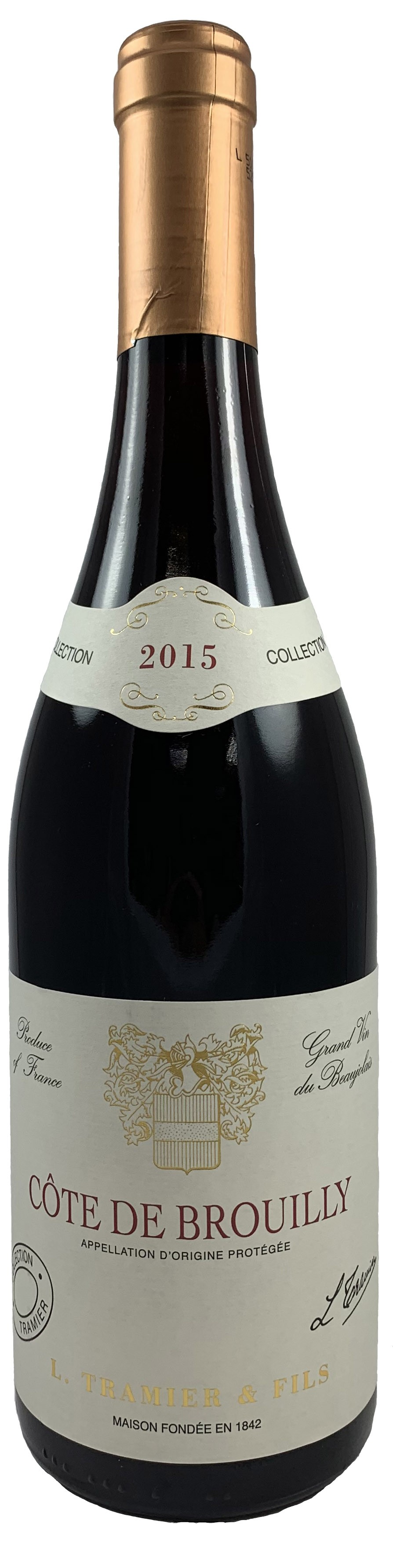 法國 鉈尼酒莊 布伊丘產區 特級紅葡萄酒2015