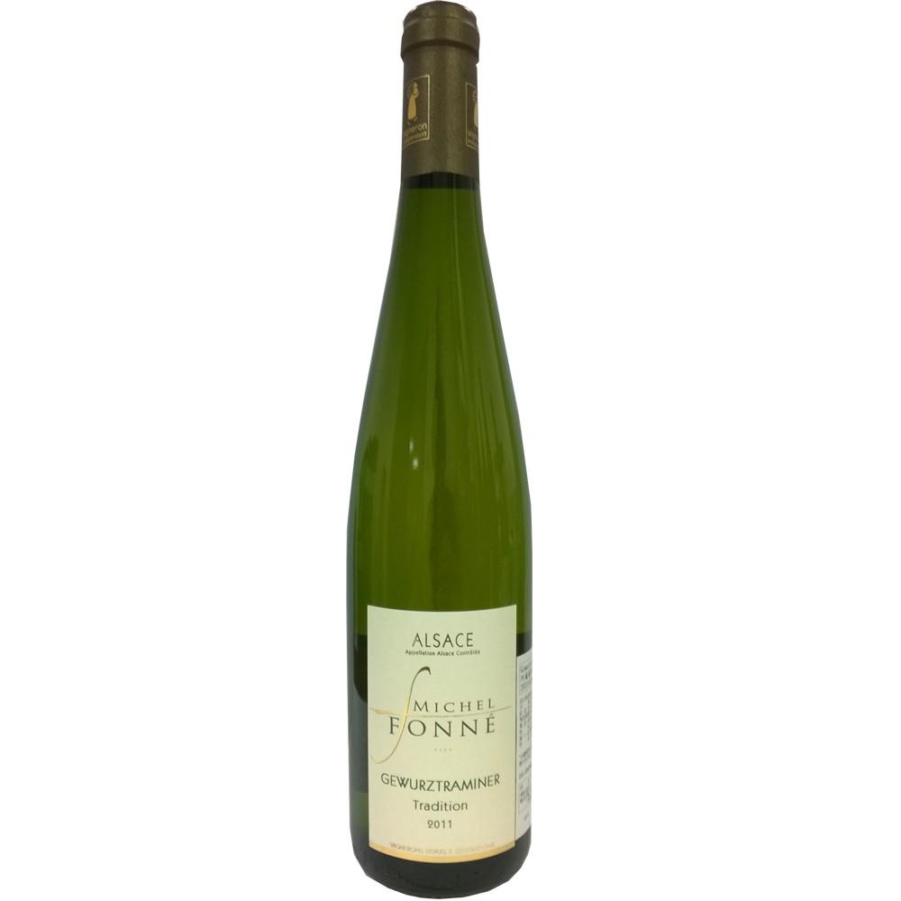 法國 阿爾薩斯AOC 米歇爾弗內酒莊 格烏茲塔明娜 白葡萄酒2015