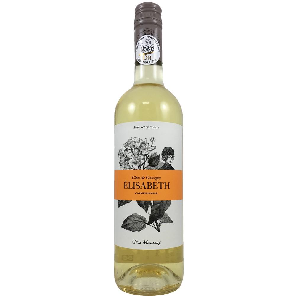 法國 西南產區 加斯康尼 美娜酒莊 伊麗莎白 大蒙仙2015甜白酒