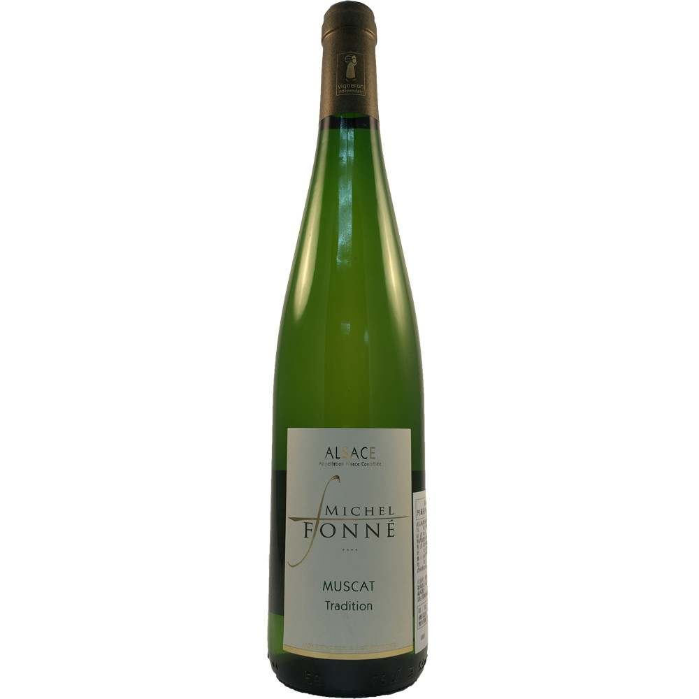 法國 阿爾薩斯AOC 米歇爾弗內酒莊 蜜絲卡 白葡萄酒2015