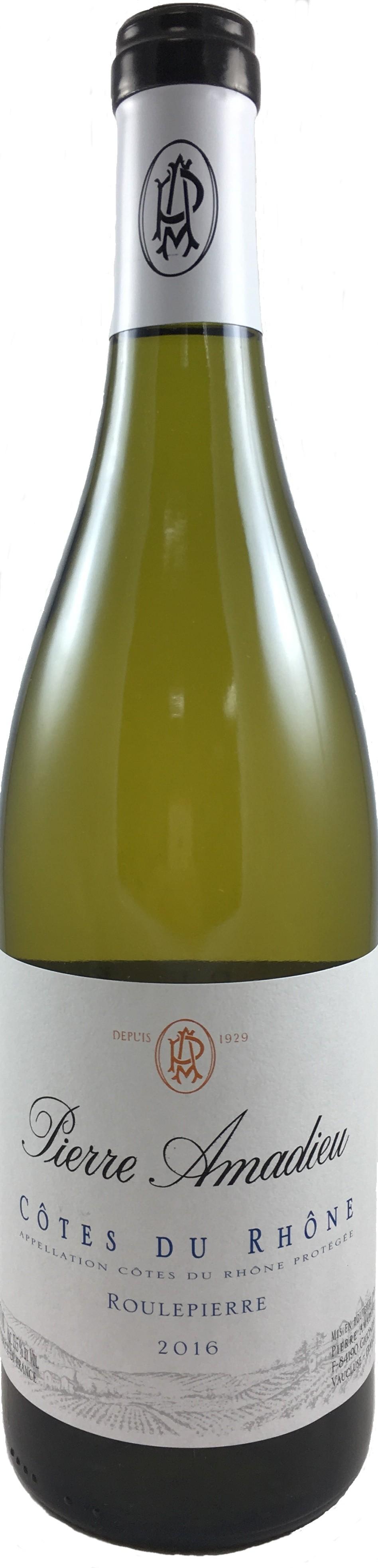 法國 隆河丘 2016  皮耶阿瑪德酒莊 滾石白葡萄酒