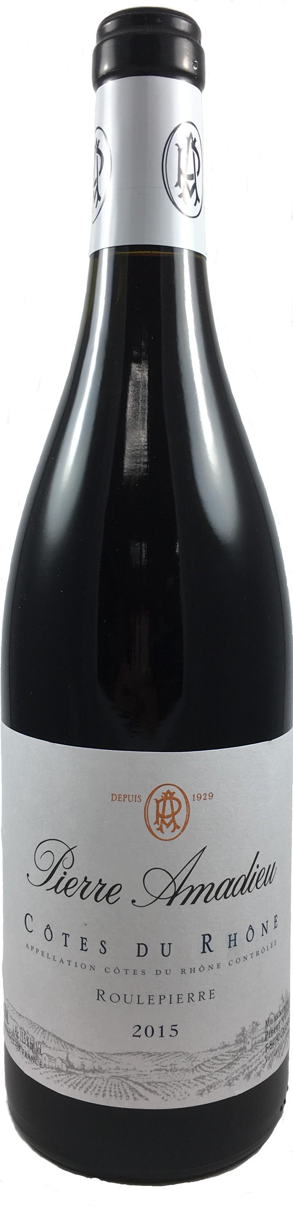 法國 隆河丘 2015  皮耶阿瑪德酒莊 滾石紅葡萄酒