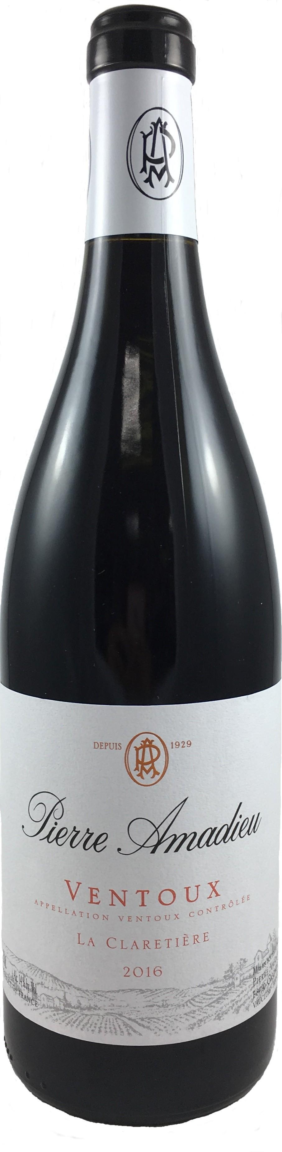 法國 隆河 馮杜AOC 2016  皮耶阿瑪德酒莊 拉克拉提耶紅葡萄酒