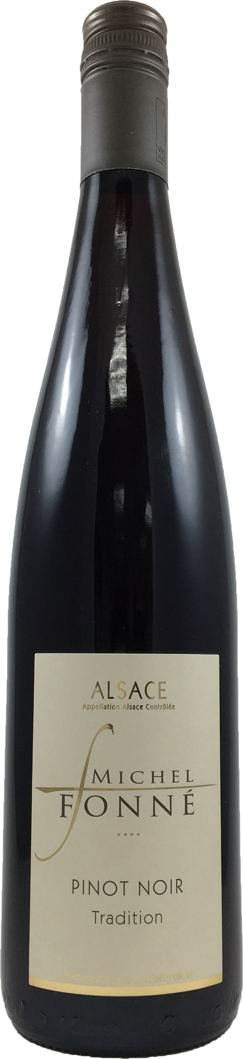 法國 阿爾薩斯AOC  米歇爾弗內酒莊 黑皮諾 紅酒2015