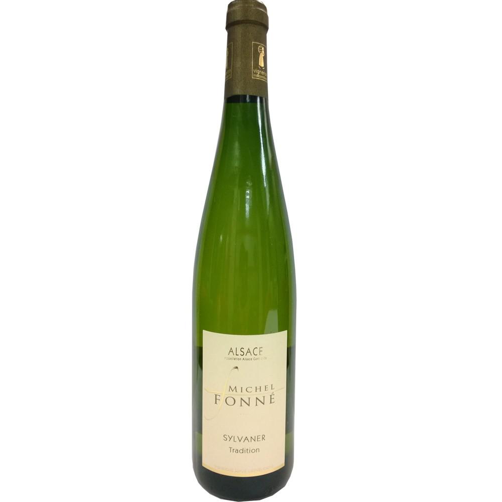 法國 阿爾薩斯AOC 米歇爾弗內酒莊 希爾瓦納 白葡萄酒2016