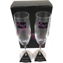 Lucaris 無鉛水晶香檳杯(2PCS)
