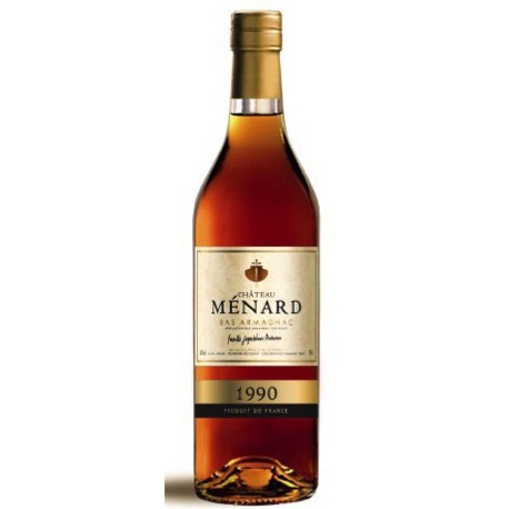 Chateau Menard, AOP Bas- Armagnac 1990法國 梅納爾酒莊 雅瑪邑1990年份白蘭地