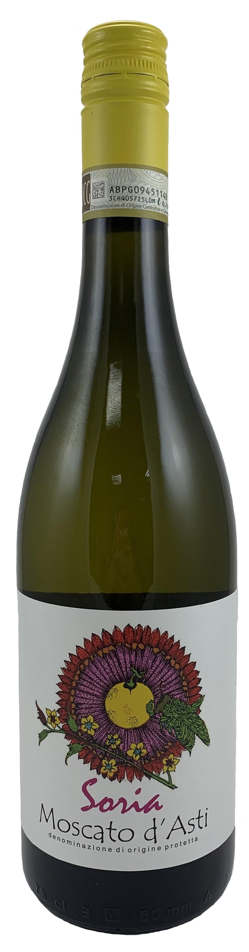 義大利 太陽花 麝香 微氣泡甜白葡萄酒2020