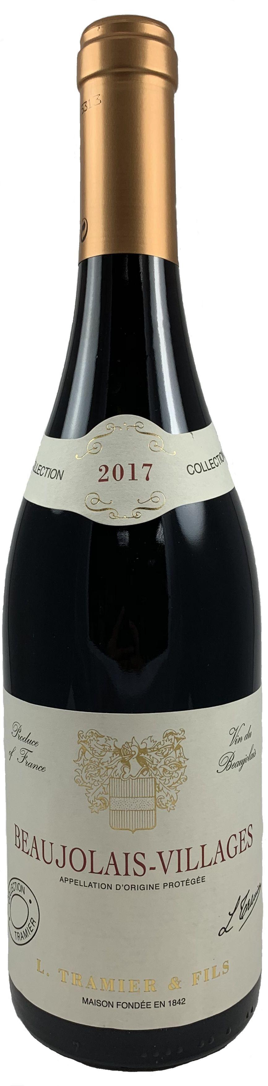 法國 鉈尼酒莊 薄酒萊村莊級 2017 紅葡萄酒
