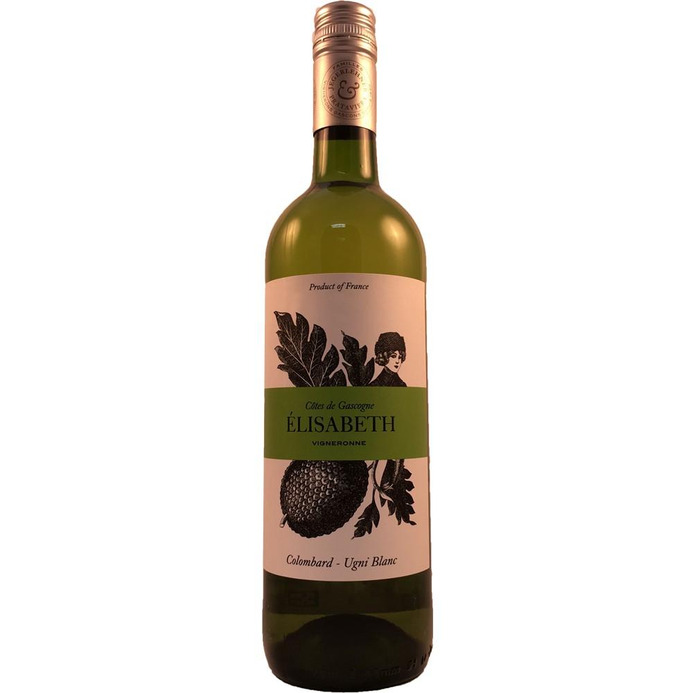 法國 西南產區 加斯康尼 美娜酒莊 伊麗莎白 經典白葡萄酒 2016