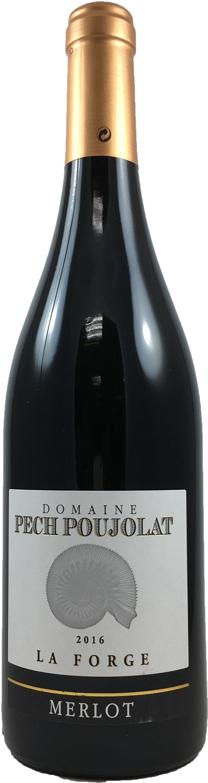 法國 胡西庸 佩吉酒莊 海螺系列 梅洛紅葡萄酒 2016