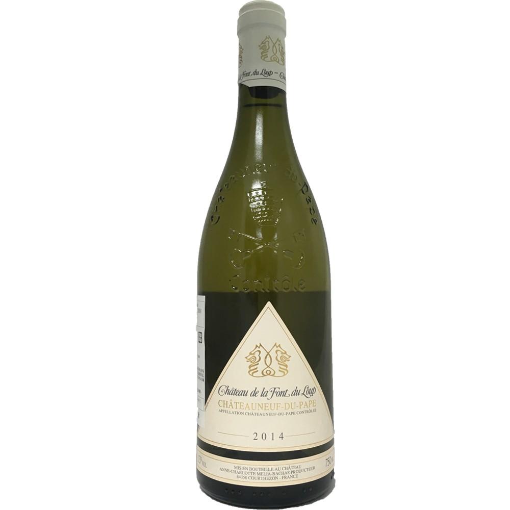 法國 隆河 教皇新堡AOP 狼泉古堡 白葡萄酒2014