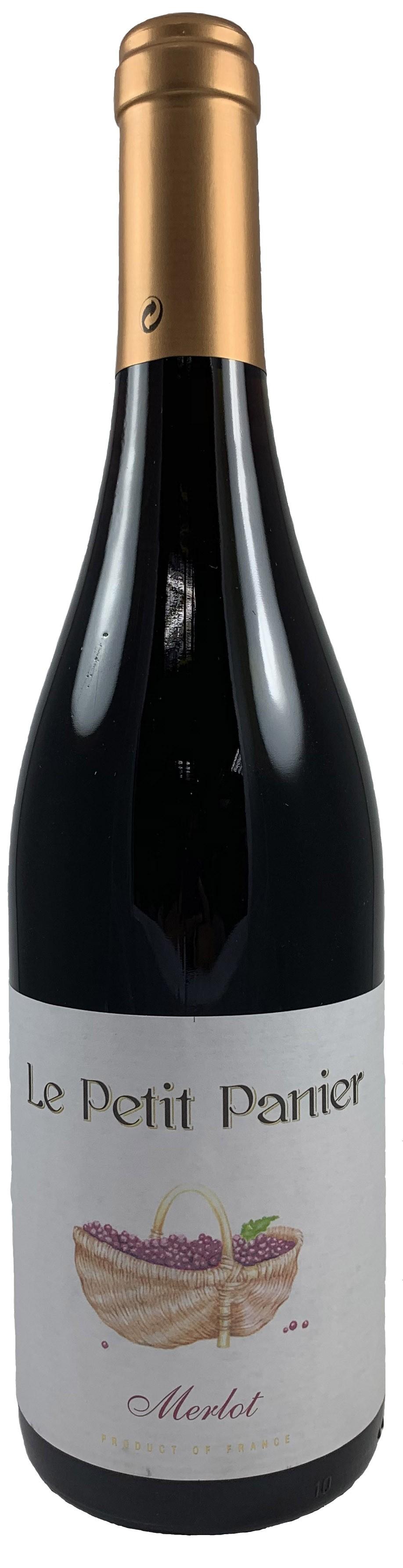 法國西南產區小籃子梅洛紅葡萄酒 2019