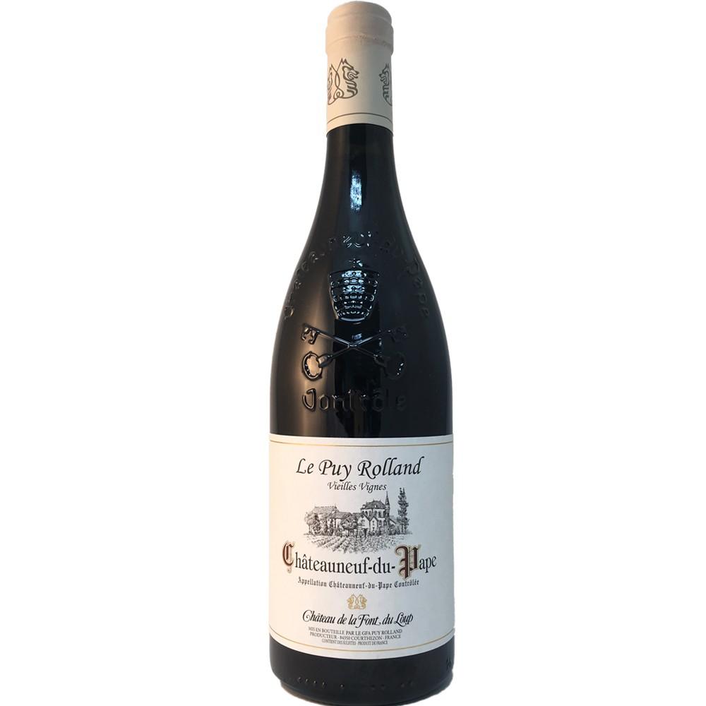 法國 隆河 教皇新堡AOP 狼泉古堡 普依羅蘭 老藤 頂級紅酒2013