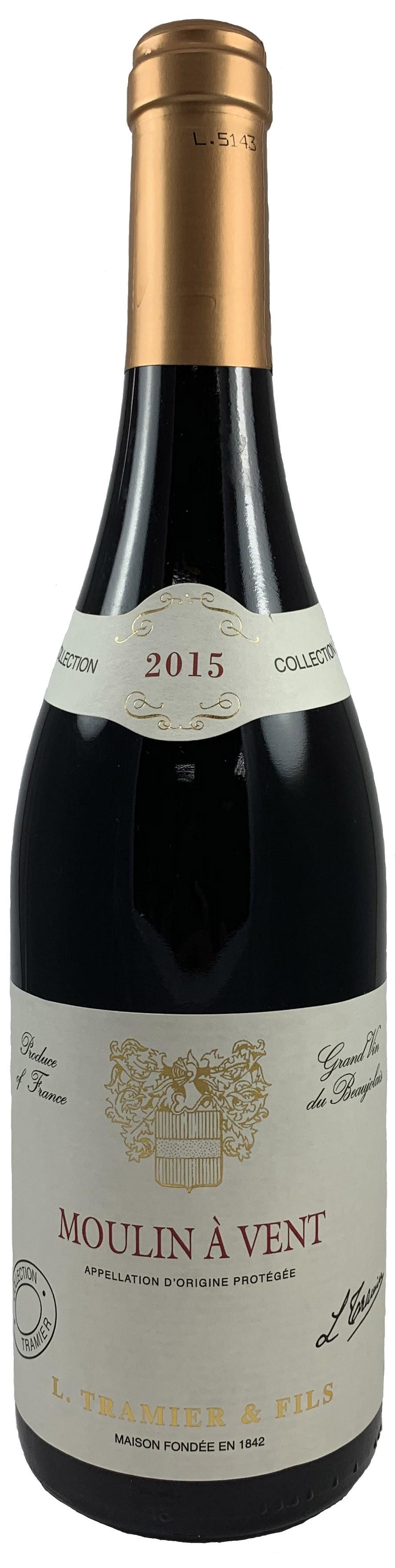 法國 鉈尼酒莊 風車產區 特級紅葡萄酒2015