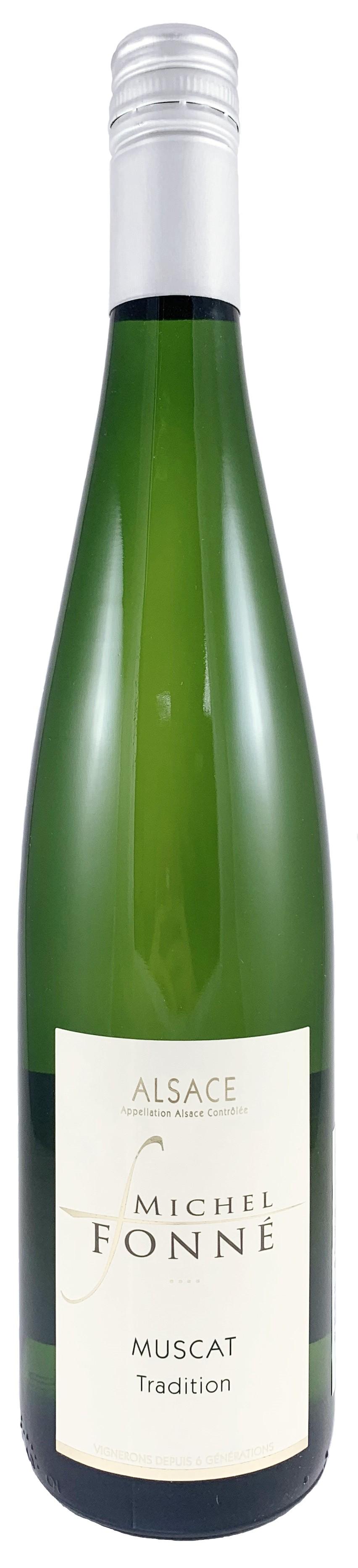 法國 阿爾薩斯AOC 米歇爾弗內酒莊 蜜絲卡 白葡萄酒2017