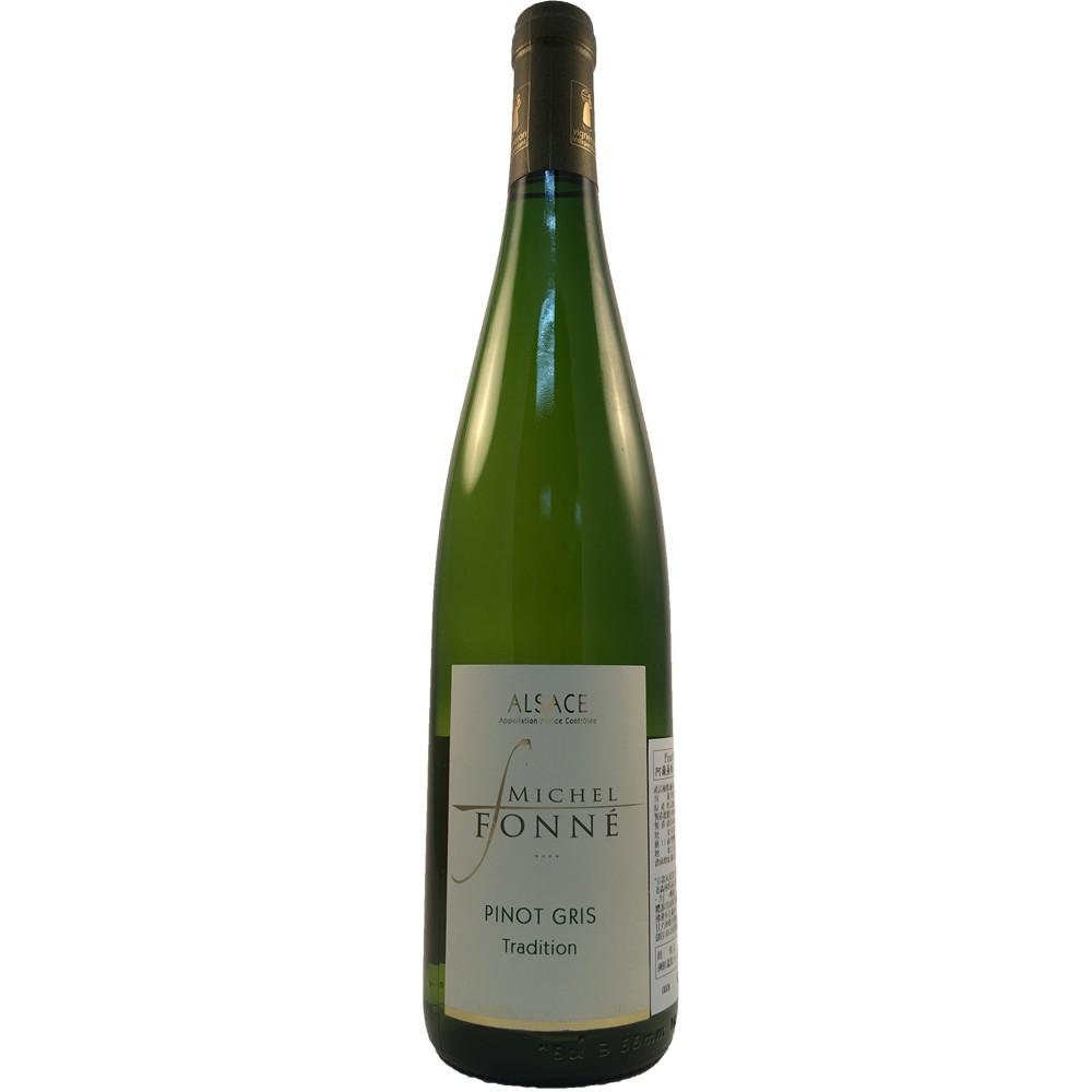 法國 阿爾薩斯AOC 米歇爾弗內酒莊 灰皮諾 白葡萄酒2015