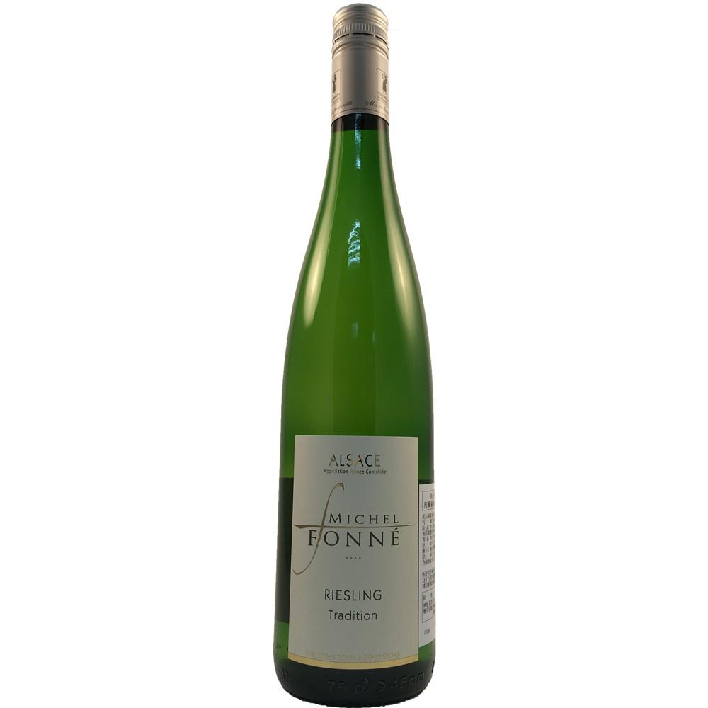 法國 阿爾薩斯AOC 米歇爾弗內酒莊 麗絲玲 白葡萄酒2018