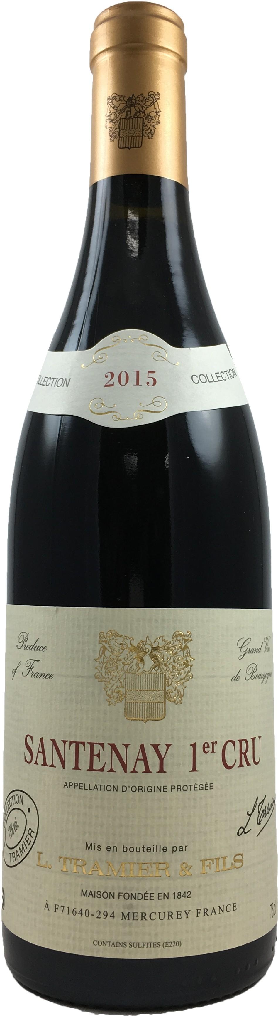 法國 鉈尼酒莊 勃艮地桑塔尼一級園2015 紅葡萄酒